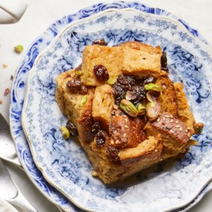 Raisin-Cardamom Overnight French Toast