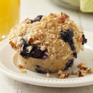 Three-B (Buckwheat, Blueberry, and Butternut) Muffins