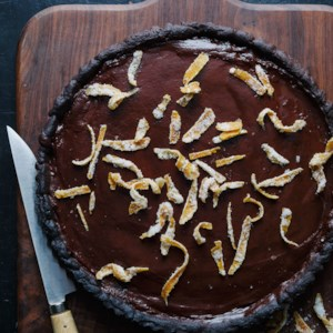 Orange Chocolate Tart