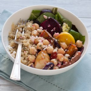Chickpea & Veggie Grain Bowl