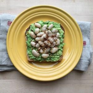 White Bean & Avocado Toast