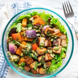 Citrus Lime Tofu Salad