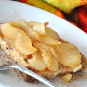 Made-Over French Toast with Spiced Pears Recipe - Cinnamon, ginger, and honey make a syrup with fresh pears in this French toast casserole.