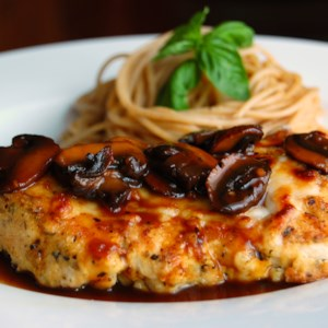 Chicken Marsala Recipe and Video - Herbed chicken in a sweet Marsala and mushroom sauce -- sounds simple, and it is -- simply delicious.