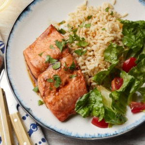 Honey-Garlic Salmon