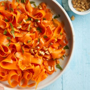 Carrot-Peanut Noodle Salad