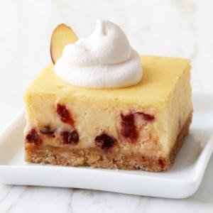 Cherry-Almond Cheesecake Bars