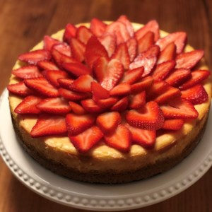 Chantal's New York Cheesecake Recipe and Video - Why go to the Cheesecake Factory to get