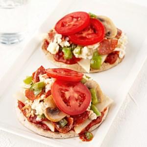 Quick Breakfast Pizza