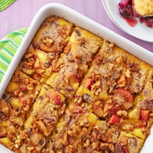 Peach-Cranberry Coffeecake
