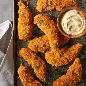 Almond-Crusted Chicken Strips