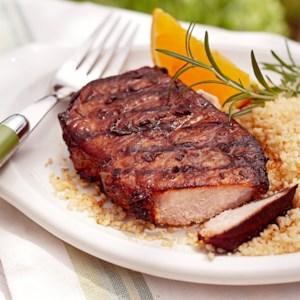 Orange and Rosemary Pork Chops