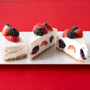 Berry-Topped  Cheesecake