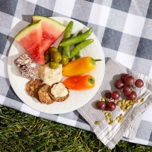 Sweet & Savory Hummus Plate