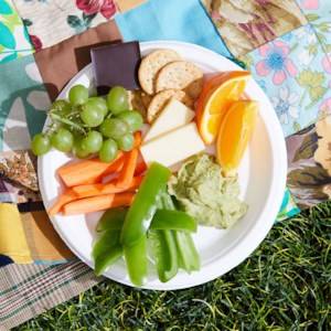 Fruit, Veggie & Cheese Plate