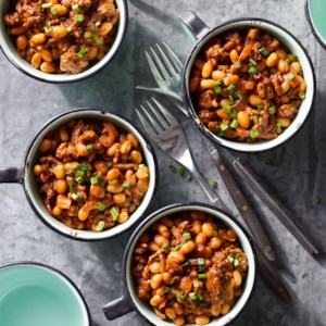 Baked Beans with Ground Beef