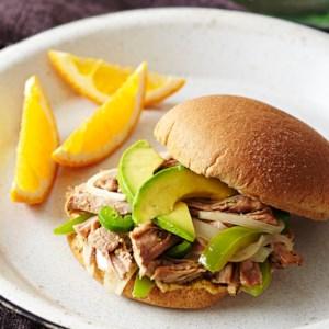 Cuban Pulled Pork Sandwich
