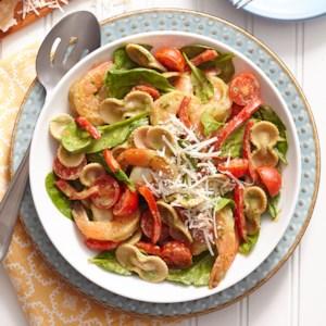 Shrimp and Avocado-Cream Pasta