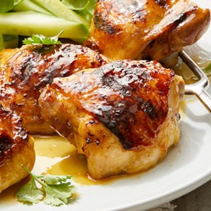 Thai Wit-Glazed Grilled Chicken