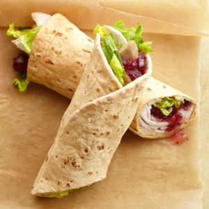 Turkey-Cranberry Wrap