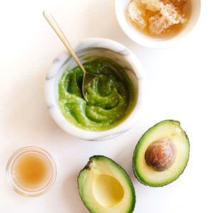 Honey-Avocado Face Mask