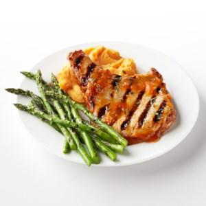 Apricot-Glazed Pork Chops