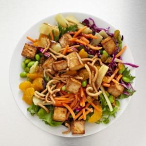 Asian Tofu & Edamame Salad