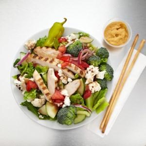 Grilled Chicken & Feta Greek Salad