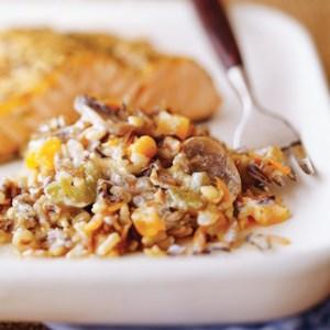 Creamy Wild Rice Pilaf