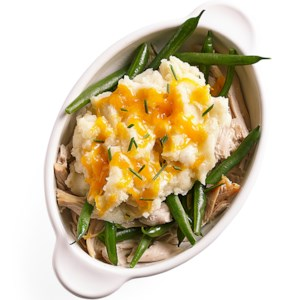 Turkey-Green Bean Shepherd's Pie