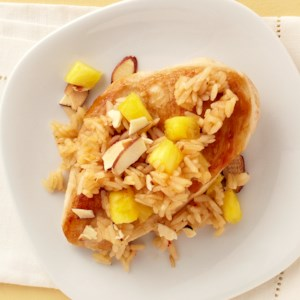 Sweet-and-Sour Almond Chicken