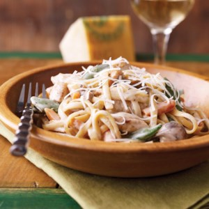 Turkey and Pasta Primavera