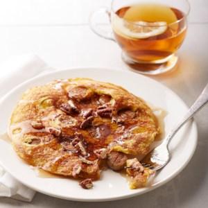 Quick Cornmeal Sausage Pancake