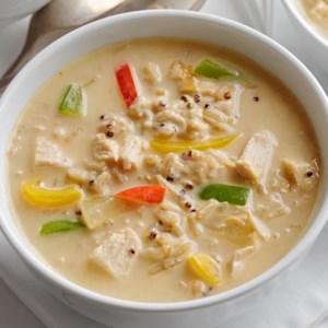 Chicken Hummus Soup
