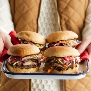 Five-Spice Pulled Pork Sandwiches