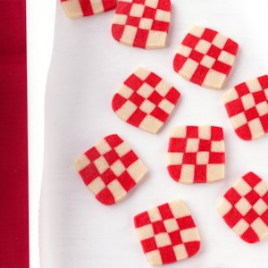 Peppermint Checkerboard Cookies