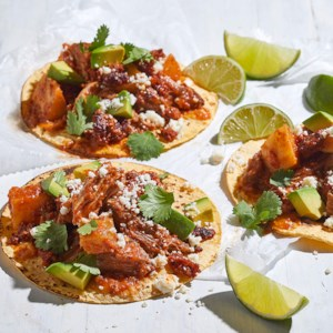 Slow-Cooker Pork Tinga Tacos