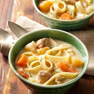 Lemon & Dill Chicken Noodle Soup