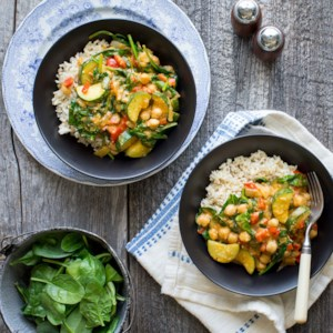 Vegan Coconut Chickpea Curry
