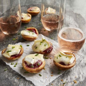 3-Ingredient Cranberry-Brie Bites