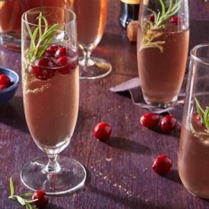 Cranberry-Prosecco Cocktail