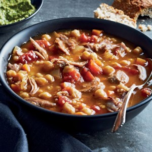 Turkish Chickpea & Lamb Soup