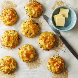 Cauliflower Cheddar Bay Biscuits
