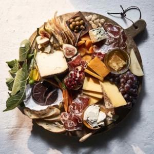 Winter Meat & Cheese Board
