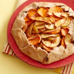 Rustic Apple-Sweet Potato Tart