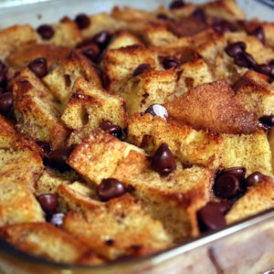 Bread Pudding II Recipe and Video - This lightly spiced bread pudding is made with simple pantry items like bread, eggs, milk, and sugar. Use a rich egg bread or a moist white loaf.