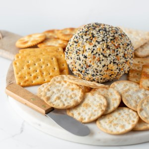 Everything Bagel Cheese Ball