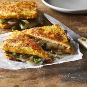 Cauliflower Grilled Cheese Sandwiches