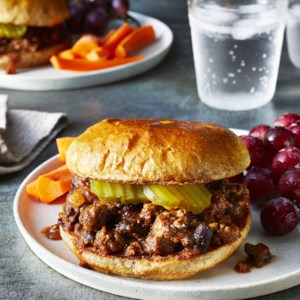 Beef & Bean Sloppy Joes