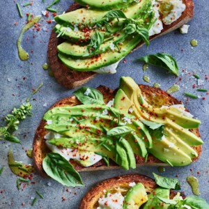Avocado Toast with Burrata
